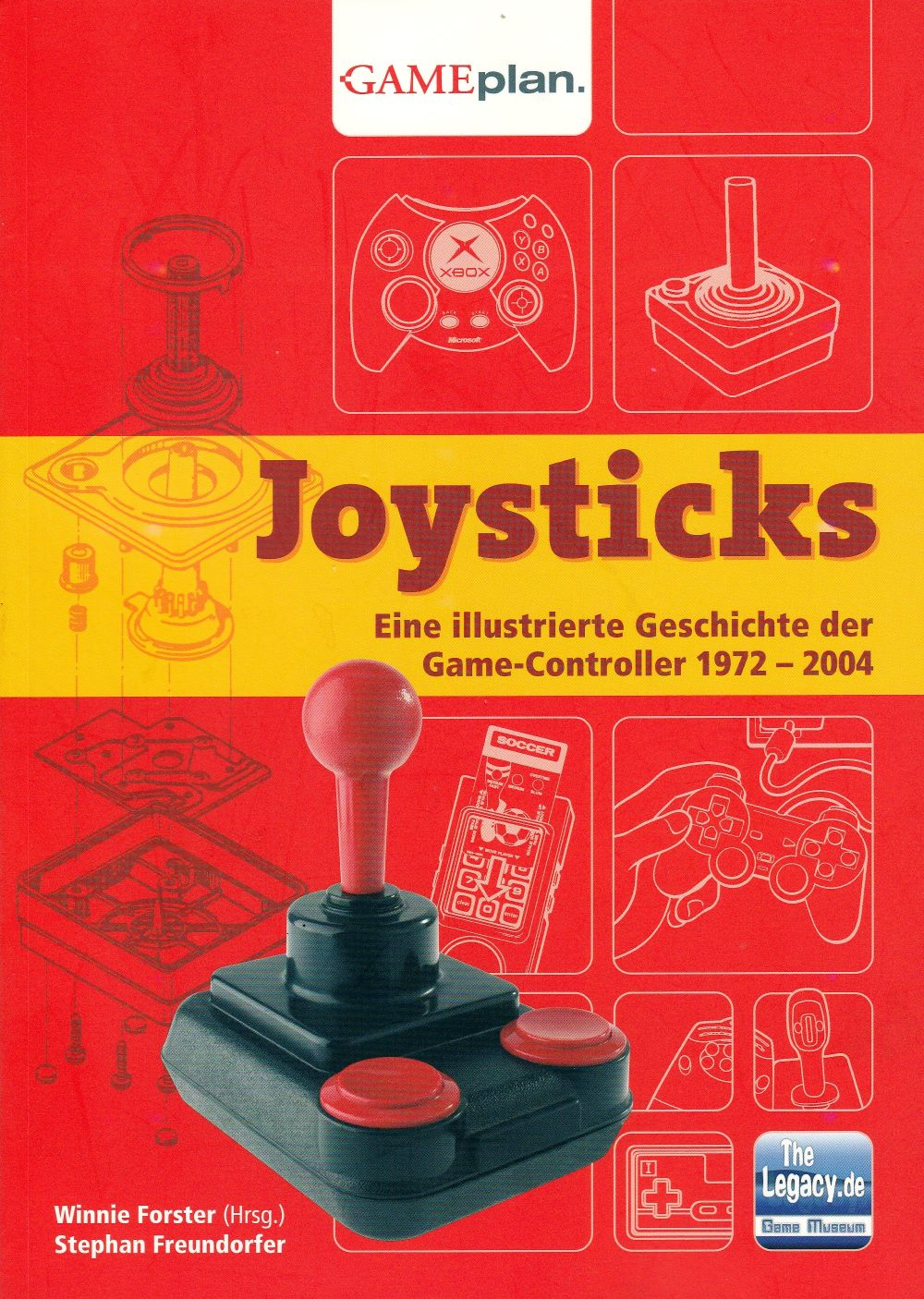 Joysticks: Eine illustrierte Geschichte der Game-Controller